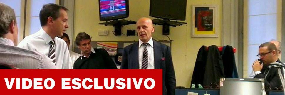 Il direttore Alessandro Sallusti incontra la redazione