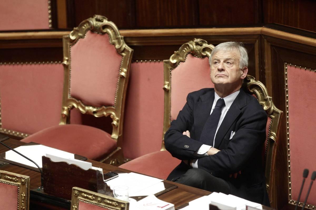 Il ministro dell'Ambiante Corrado Clini