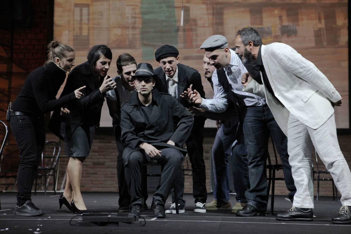 I ragazzi di San Patrignano mettono in scena Pirandello al Teatro Parenti