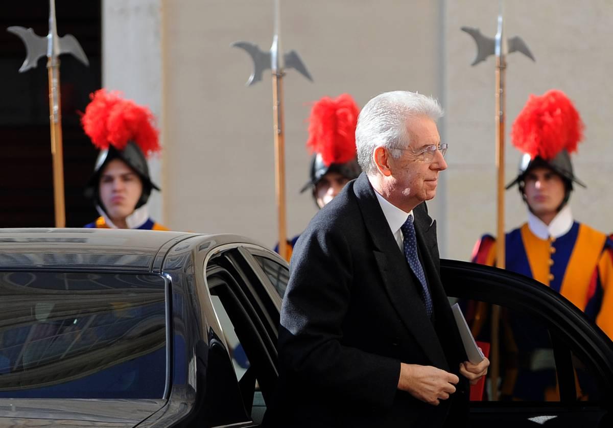 Mario Monti in Vaticano