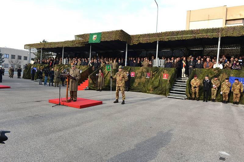 Missione Afghanistan per il Comando Nato di Solbiate Olona