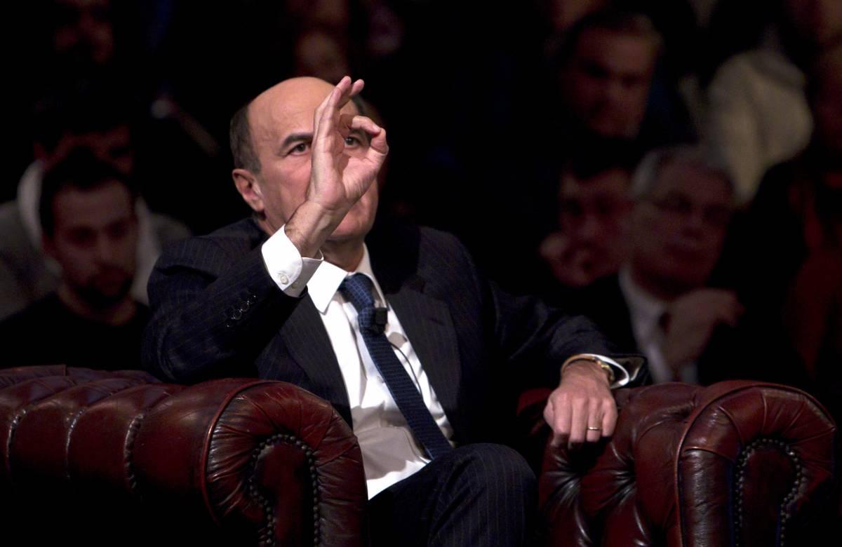 Il segretario del Partito Democratico, Pier Luigi Bersani