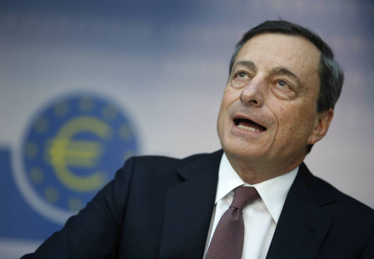 """Draghi: """"Su Mps attività criminali"""""""