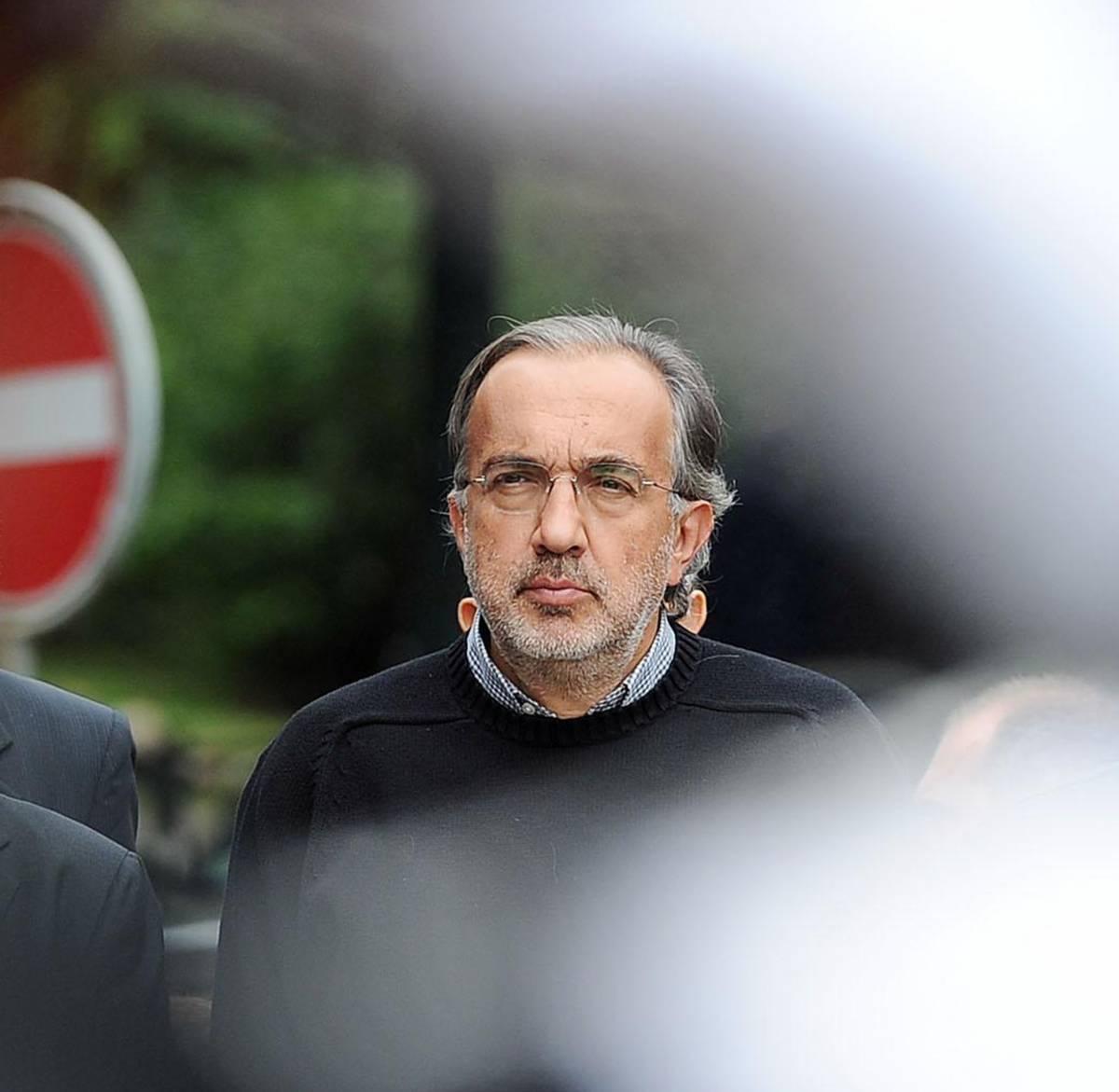 L'amministratore delegato della Fiat, Sergio Marchionne