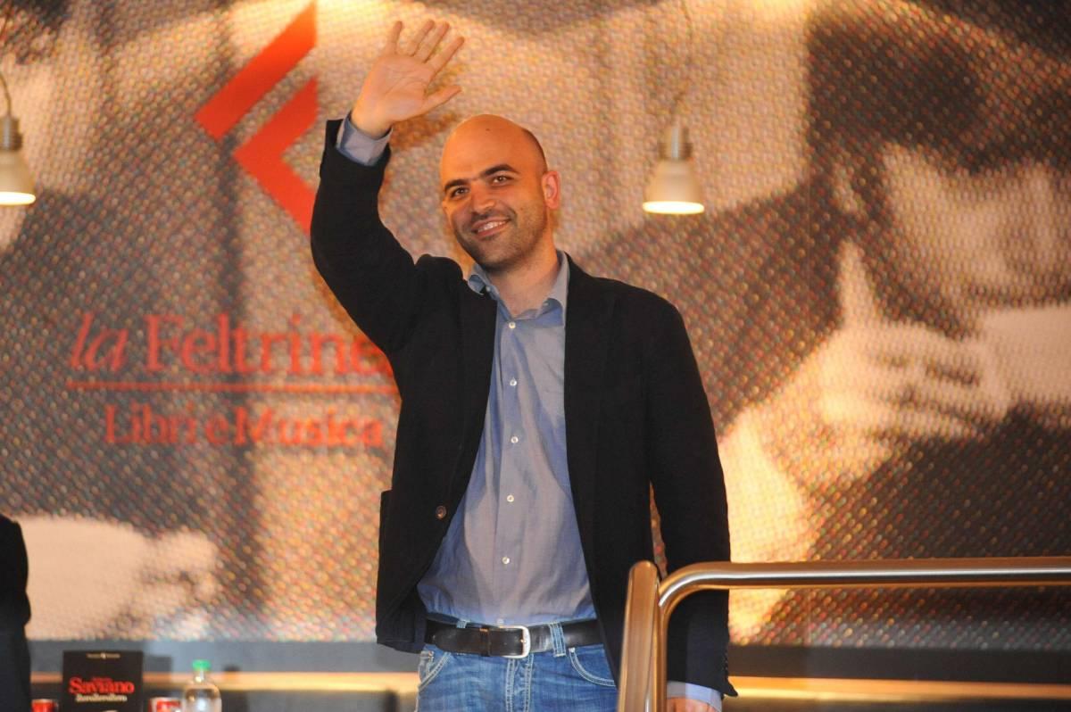 Roberto WikiSaviano trae «ispirazione» dalla enciclopedia on line