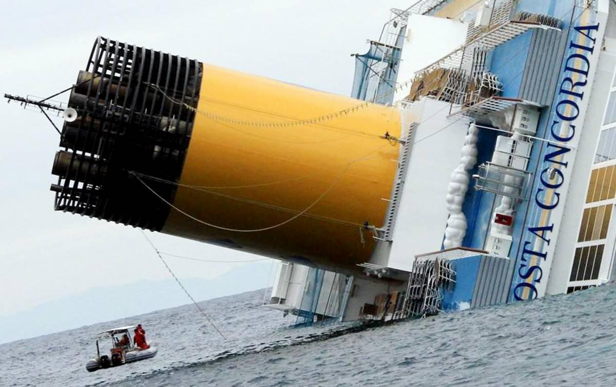 Concordia, Costa Crociere patteggia 1 milione di euro
