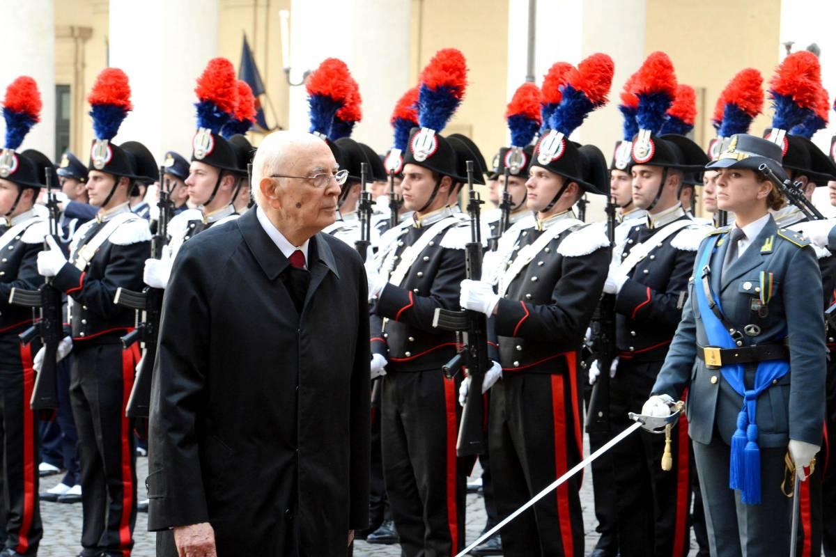 Quirinale, il giuramento di Giorgio Napolitano per il secondo mandato