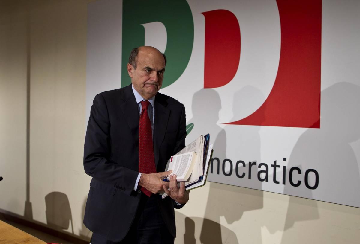 Pier Luigi Bersani alla direzione nazionale del Pd