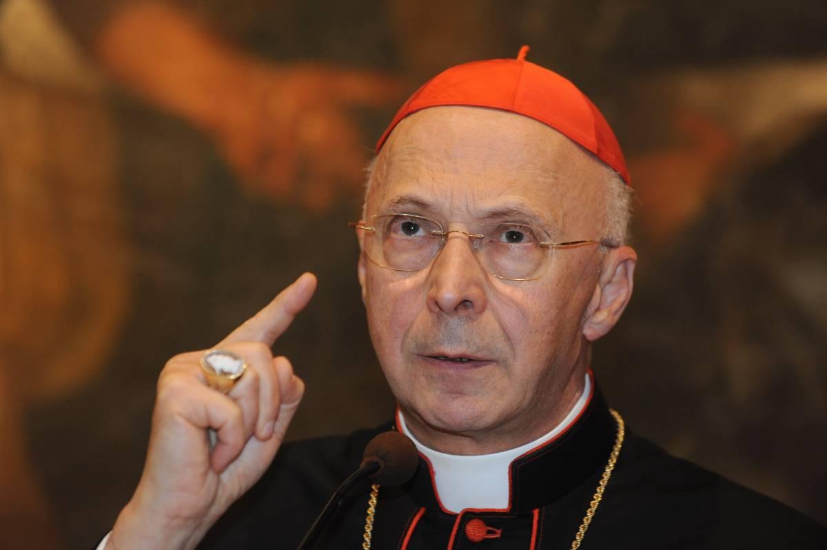 Il presidente della Cei, Angelo Bagnasco