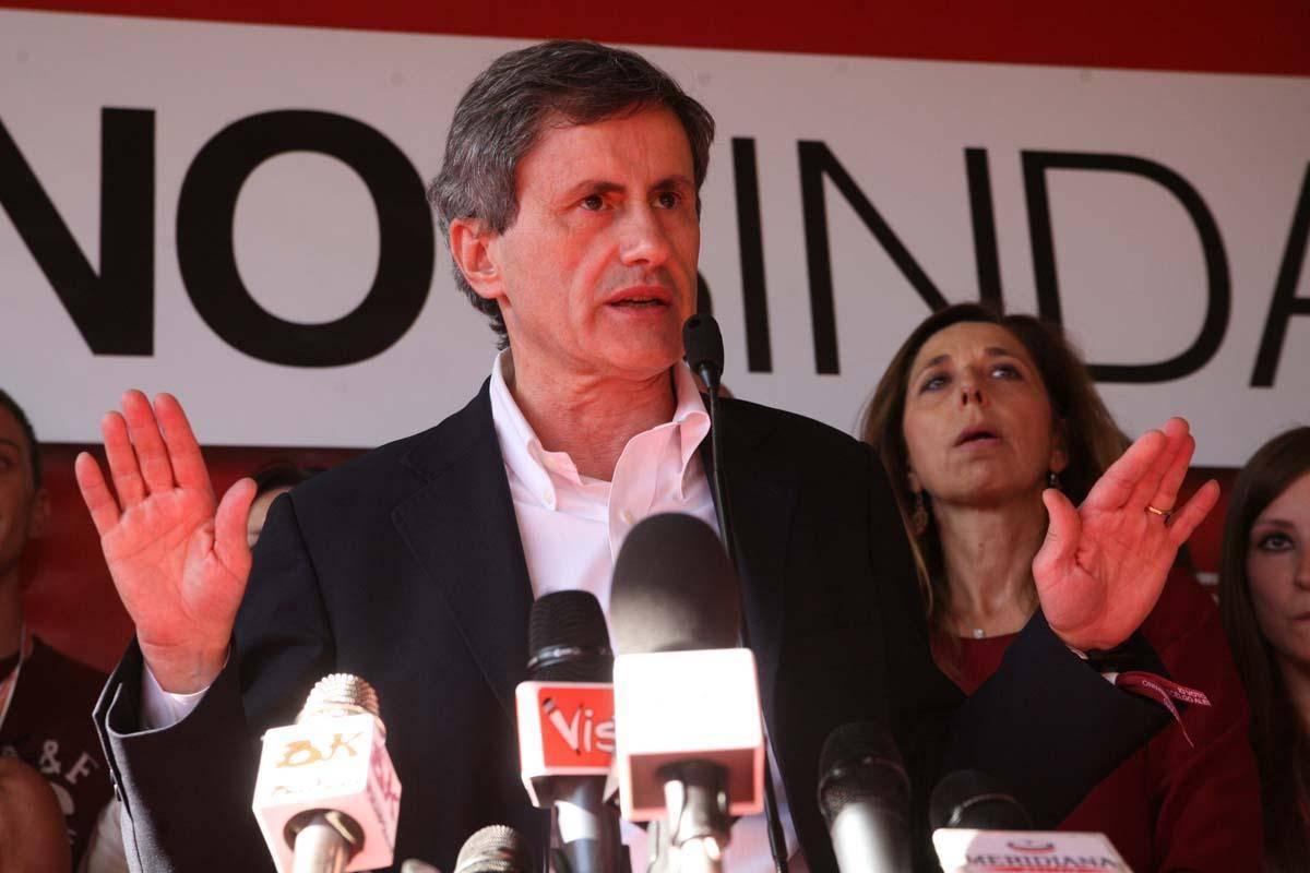 Il sindaco uscente Gianni Alemanno