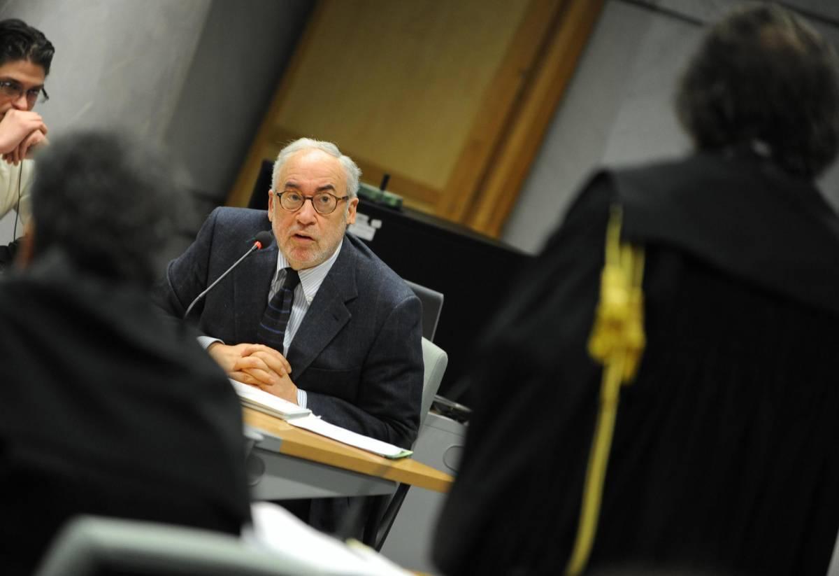 L'ex governatore della Regione Abruzzo Ottaviano Del Turco