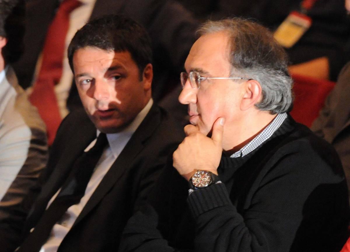 """Marchionne: """"Serve un piano Marshall per l'Italia"""""""