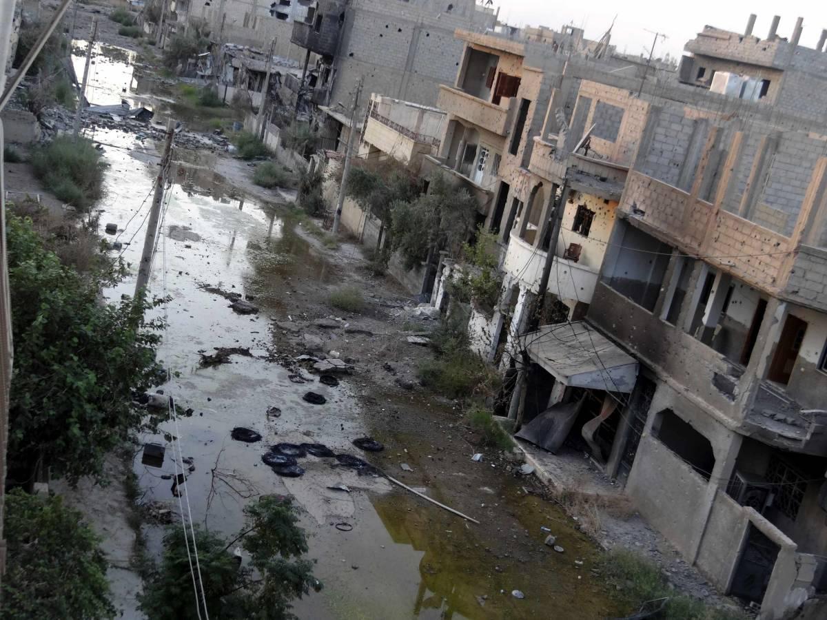 In Siria arriva il rifugio per i profughi dell'Ikea