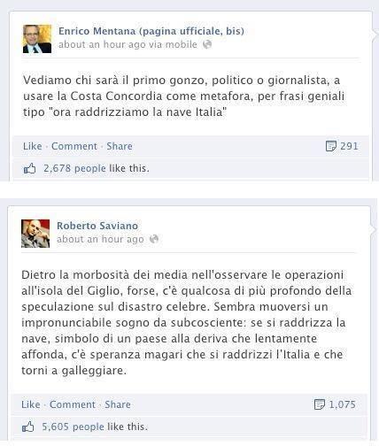 """Mentana involontariamente dà del """"gonzo"""" a Saviano"""