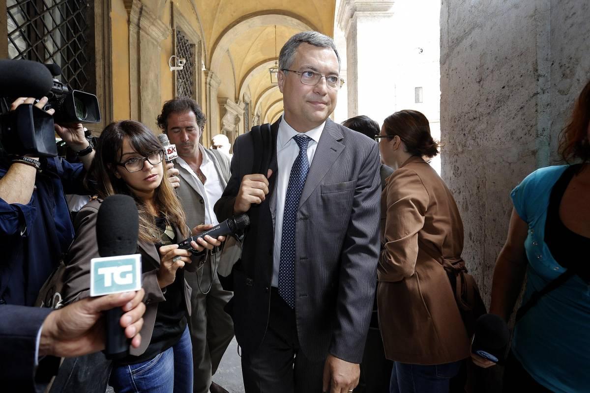 Decadenza, stasera si vota la relazione del pdl Augello