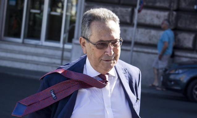 Franco Coppi, uno degli avvocati della difesa di Berlusconi