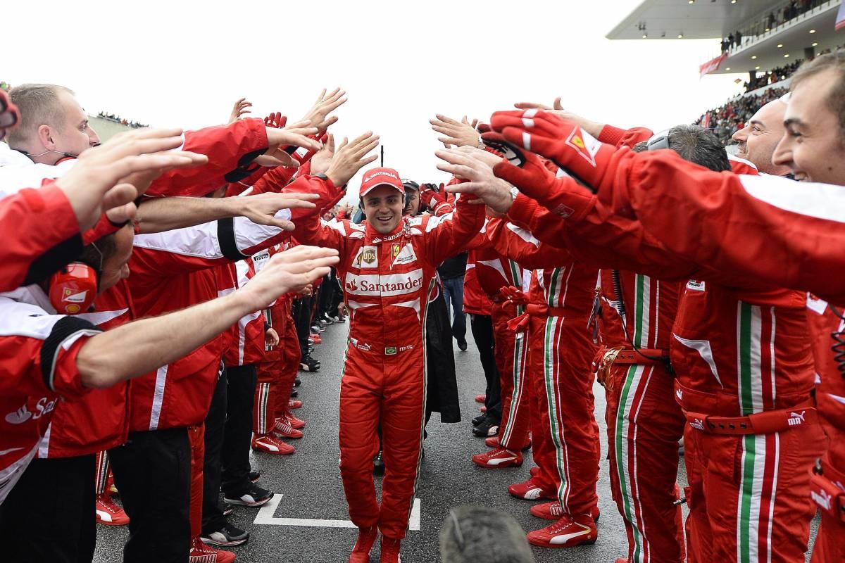 Formula 1, nel 2014 Felipe Massa correrà con i colori della Williams