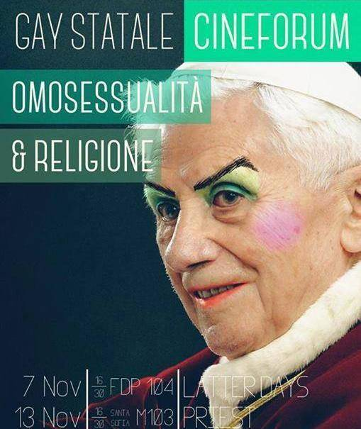 Sfida dei vescovi ai gay anti-Ratzinger