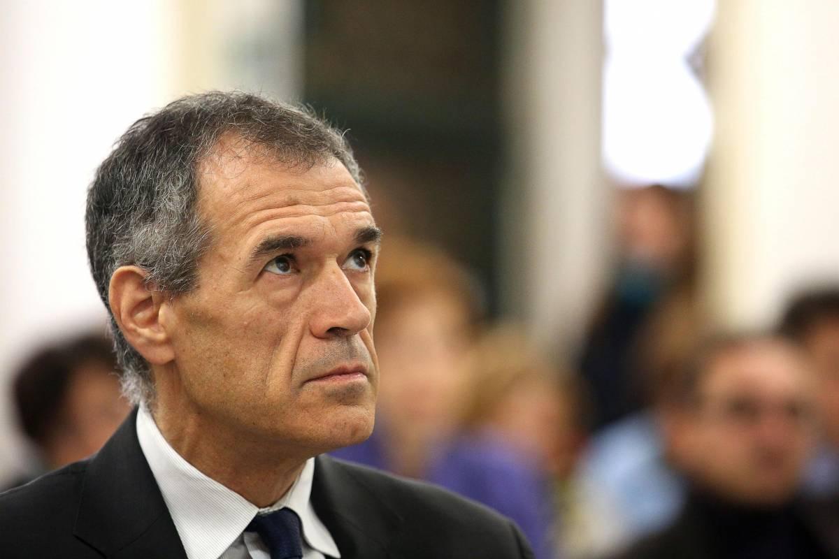 Il commissario alla Spesa, Carlo Cottarelli