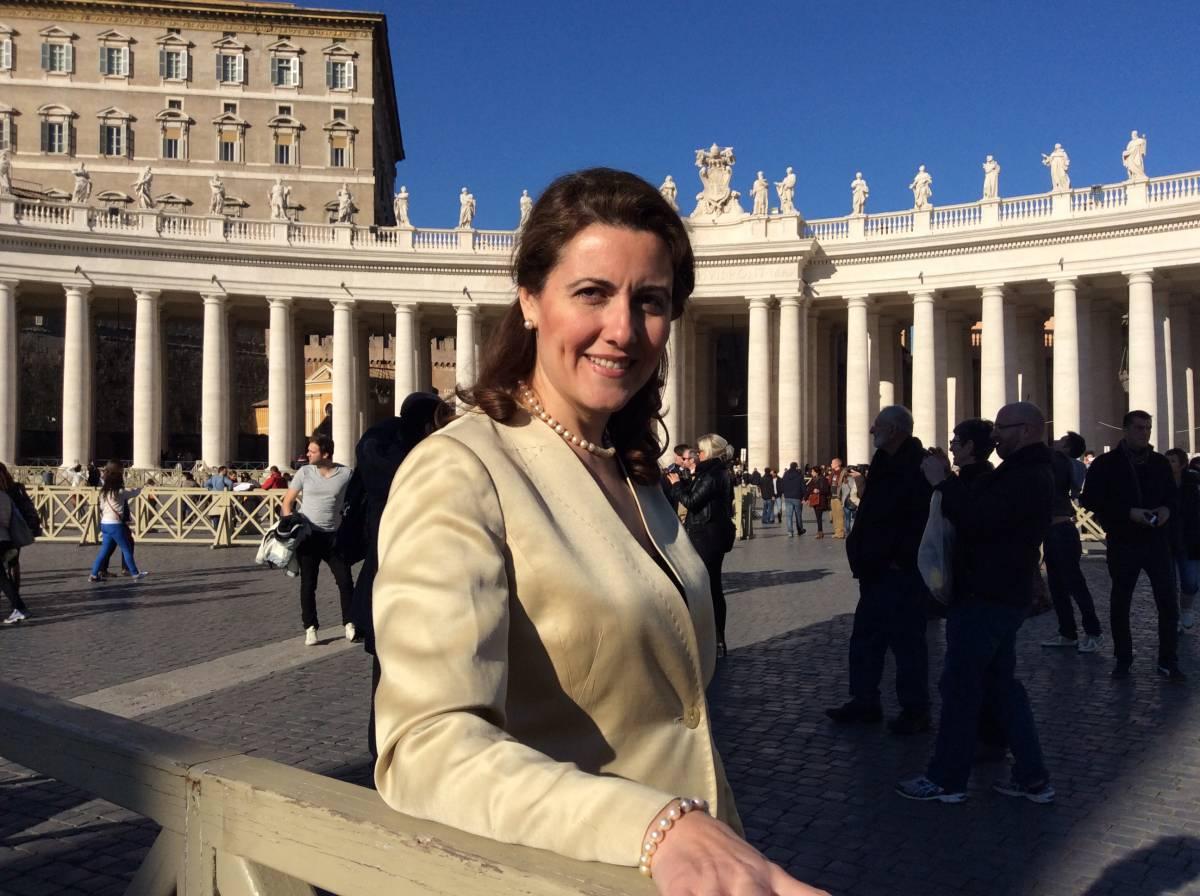 Maria Saadeh, deputata cristiana in Siria