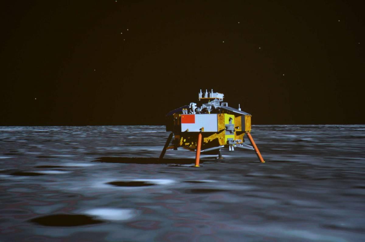 """I cinesi sulla Luna Il """"coniglio di giada"""" atterra sul satellite"""