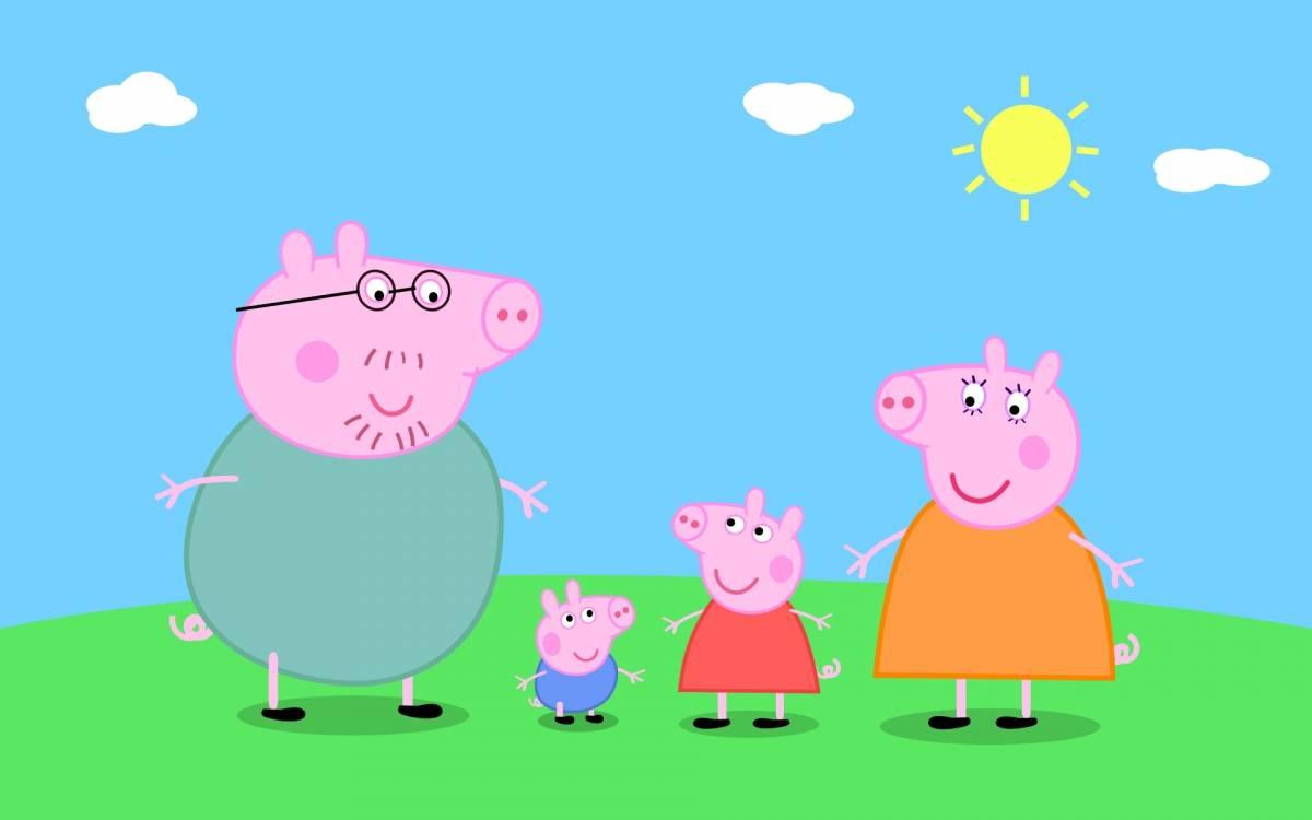 """Peppa Pig """"bandita"""" dai testi scolastici per non offendere ebrei e musulmani"""