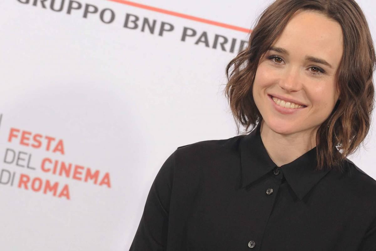 Ellen Page al photocall del film Freeheld a Roma