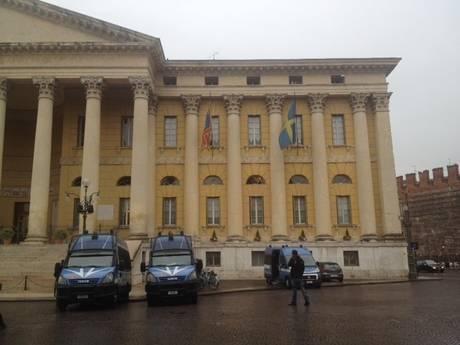 Il palazzo comunale di Verona
