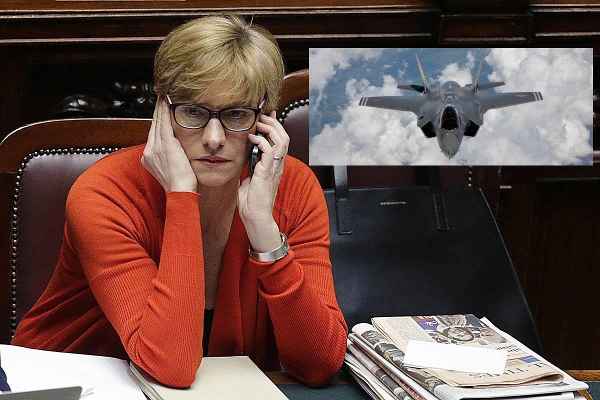 """Tagli alla Difesa. Il ministro Pinotti: """"Lecito pensare di ridurre anche gli F35"""""""
