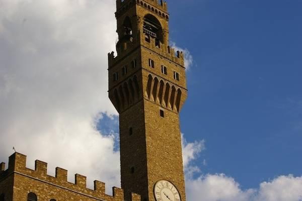 Palazzo Vecchio, sede del comune di Firenze