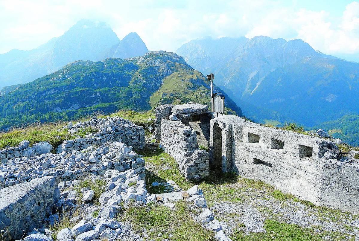 Al confine tra Friuli e Slovenia sui sentieri della Grande Guerra