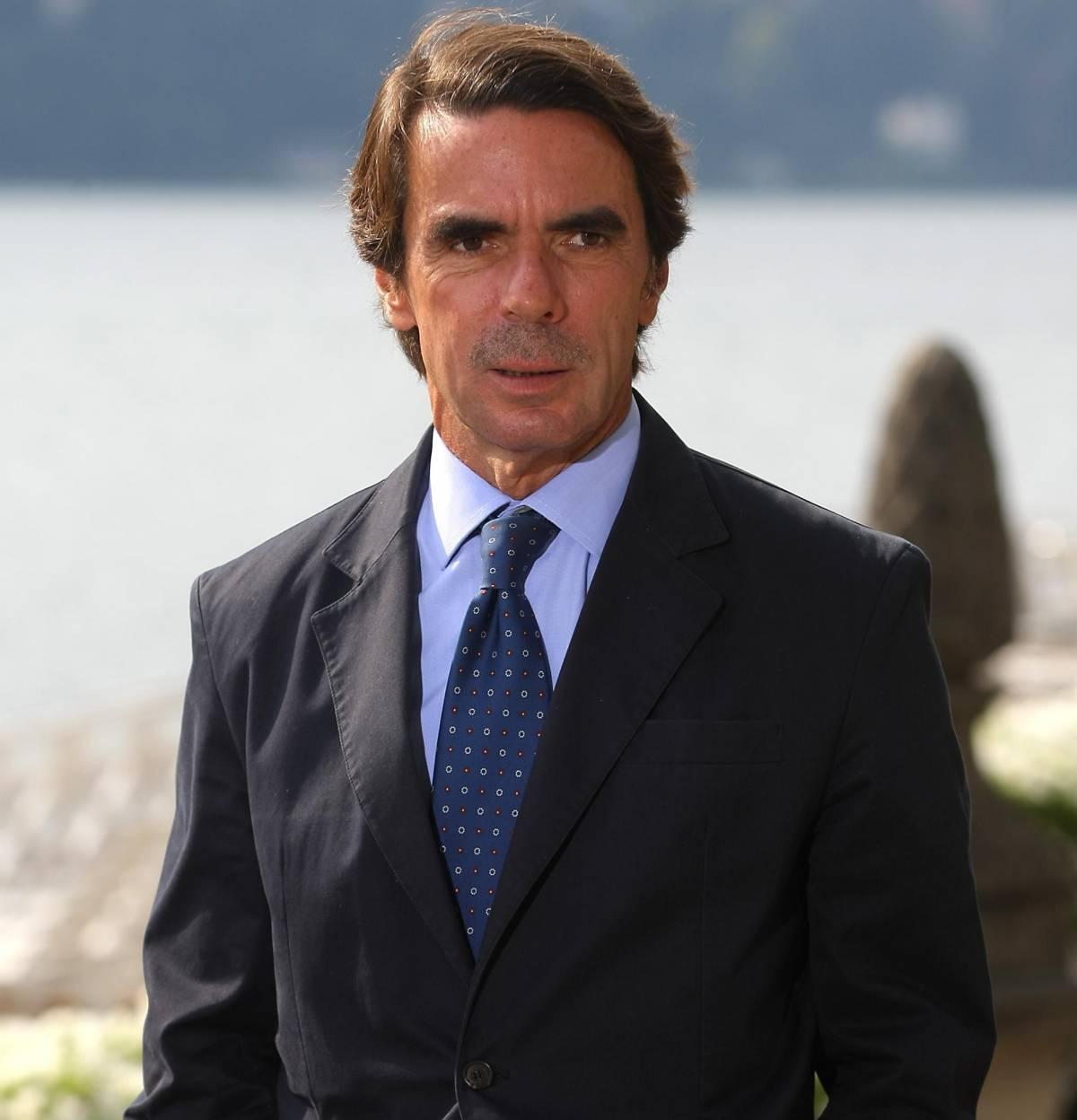 La nuova vita di Aznar sempre al centro dei giochi