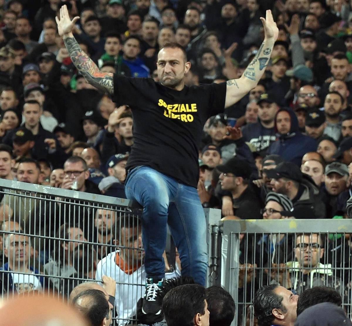 Gennaro De Tommaso, il capo ultra' del Napoli noto anche come Genny 'a carogna