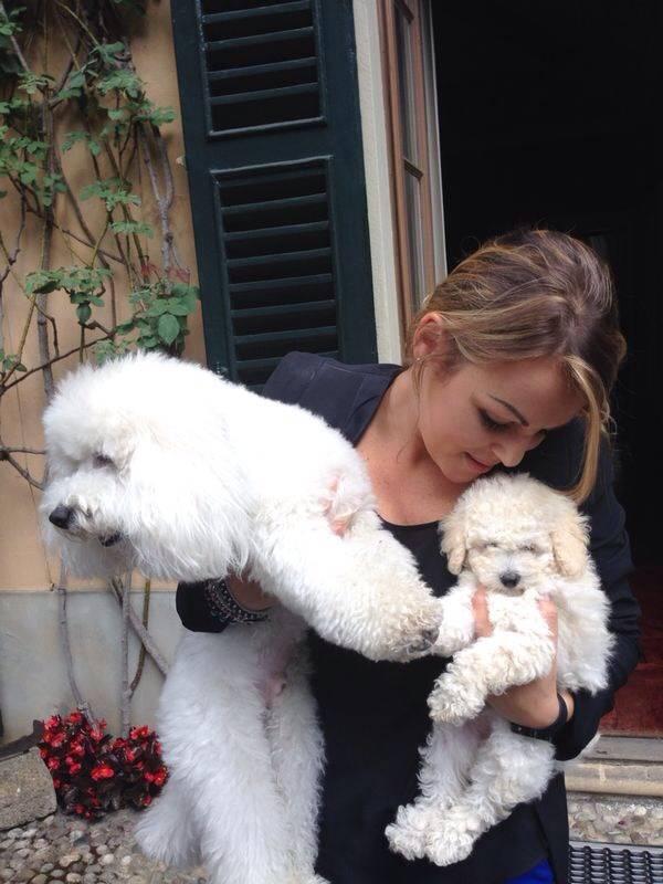 Dudù e Dudina con Francesca Pascale