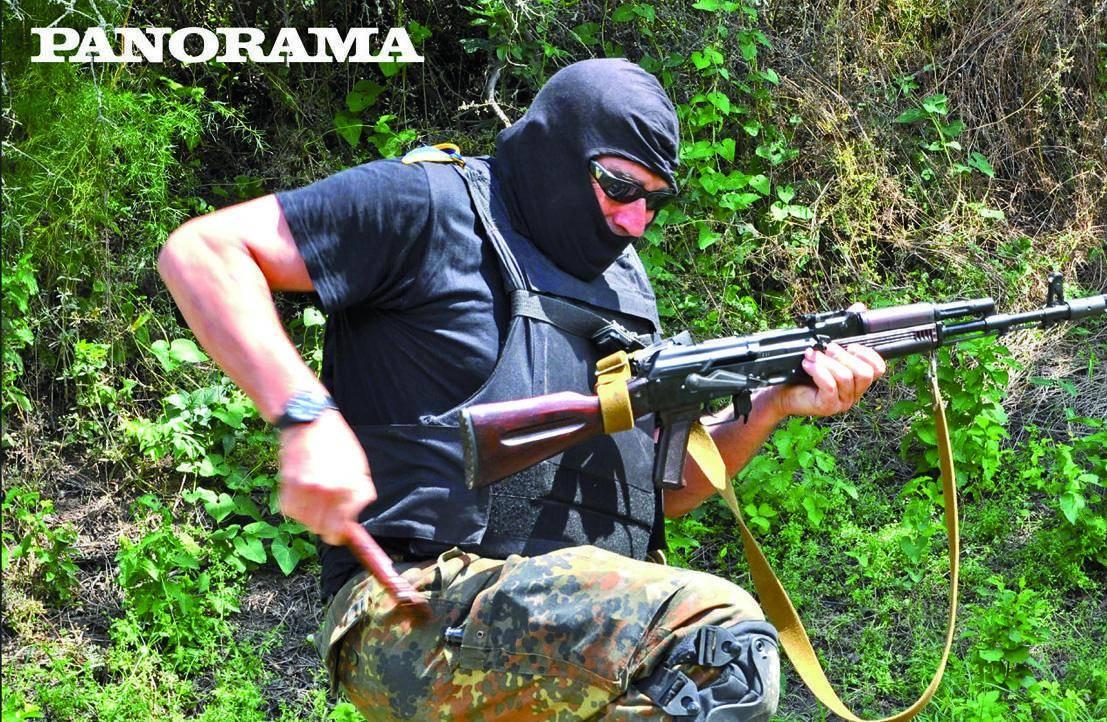 """""""Io, volontario italiano al fronte ucraino contro i ribelli filorussi"""""""