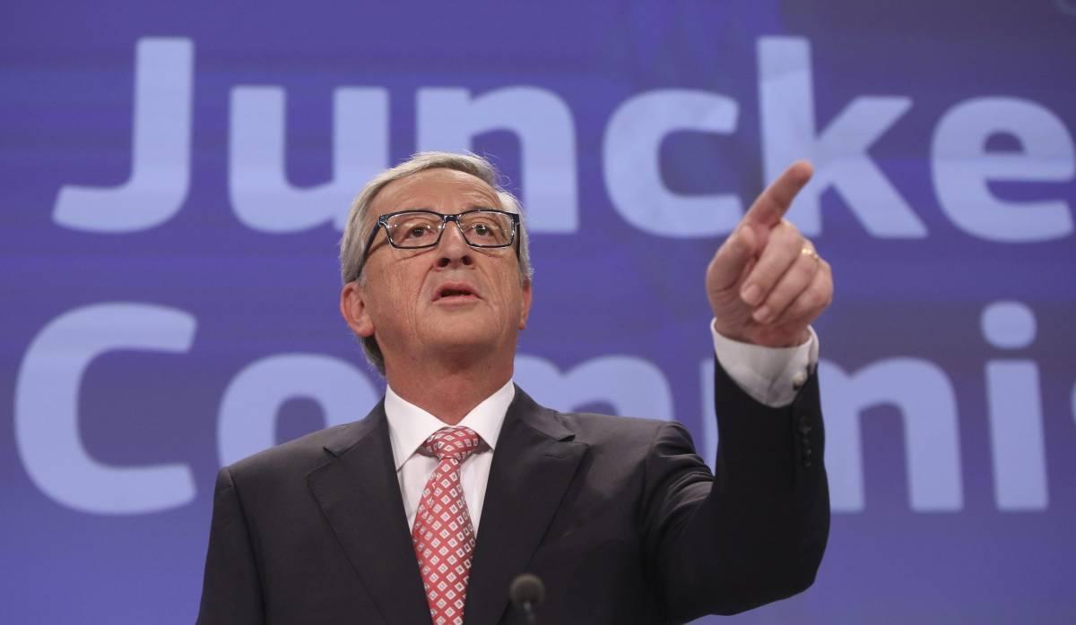 """Juncker rincara la dose: """"Non tremo davanti a Renzi"""""""