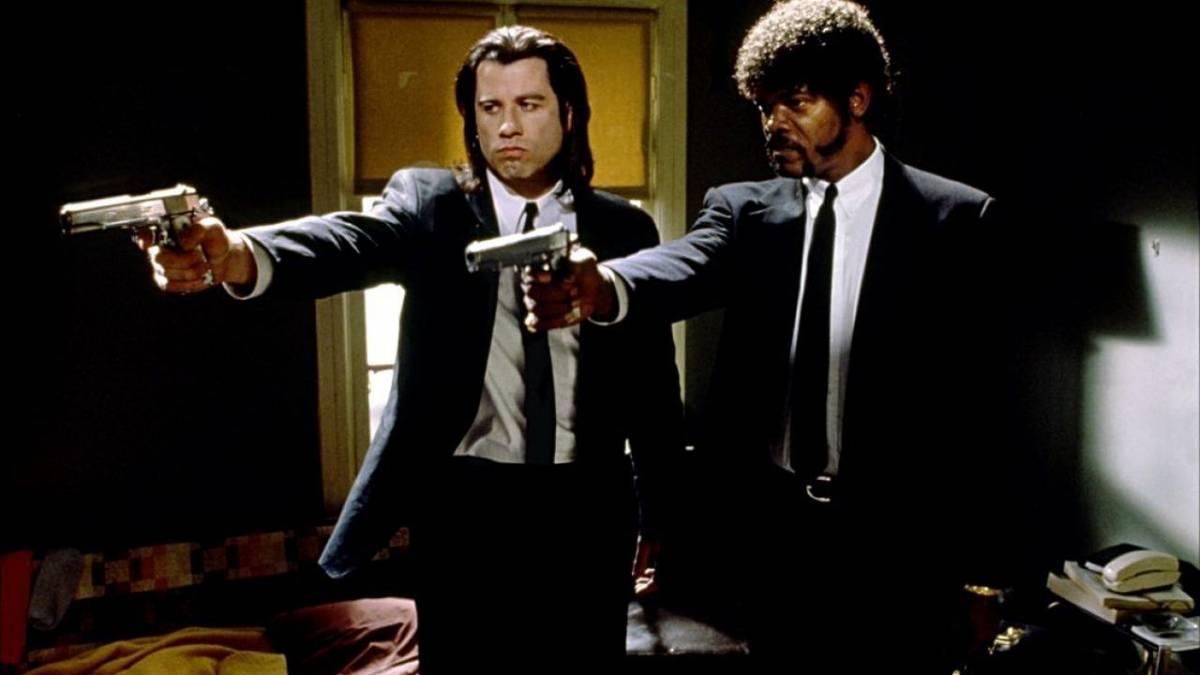 """Una scena del film """"Pulp Fiction"""" di Quentin Tarantino"""