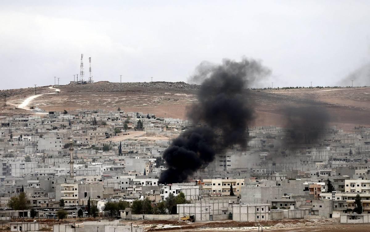 Combattimenti nella città curda di Kobane