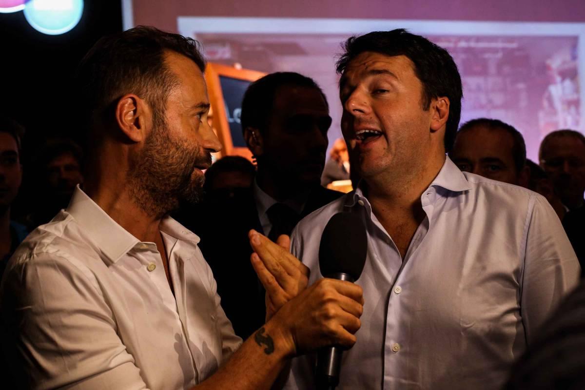 Fabio Volo intervista Renzi alla Leopolda