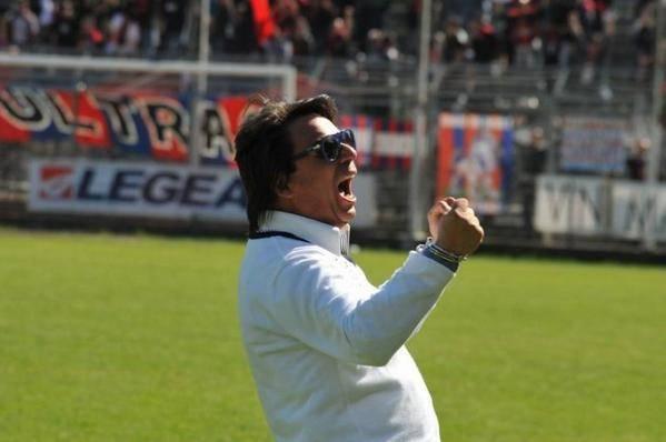 L'allenatore dell'Arezzo Eziolino Capuano