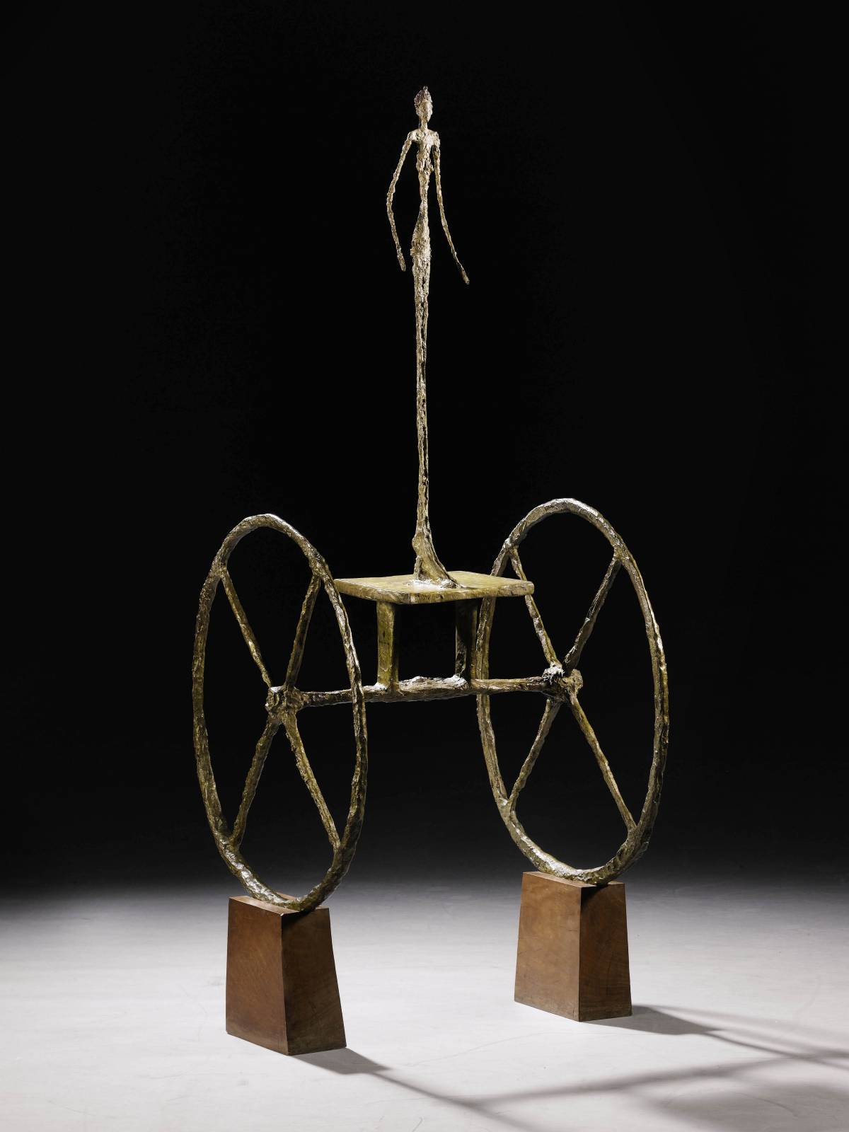 Chariot, scultura di Alberto Giacometti