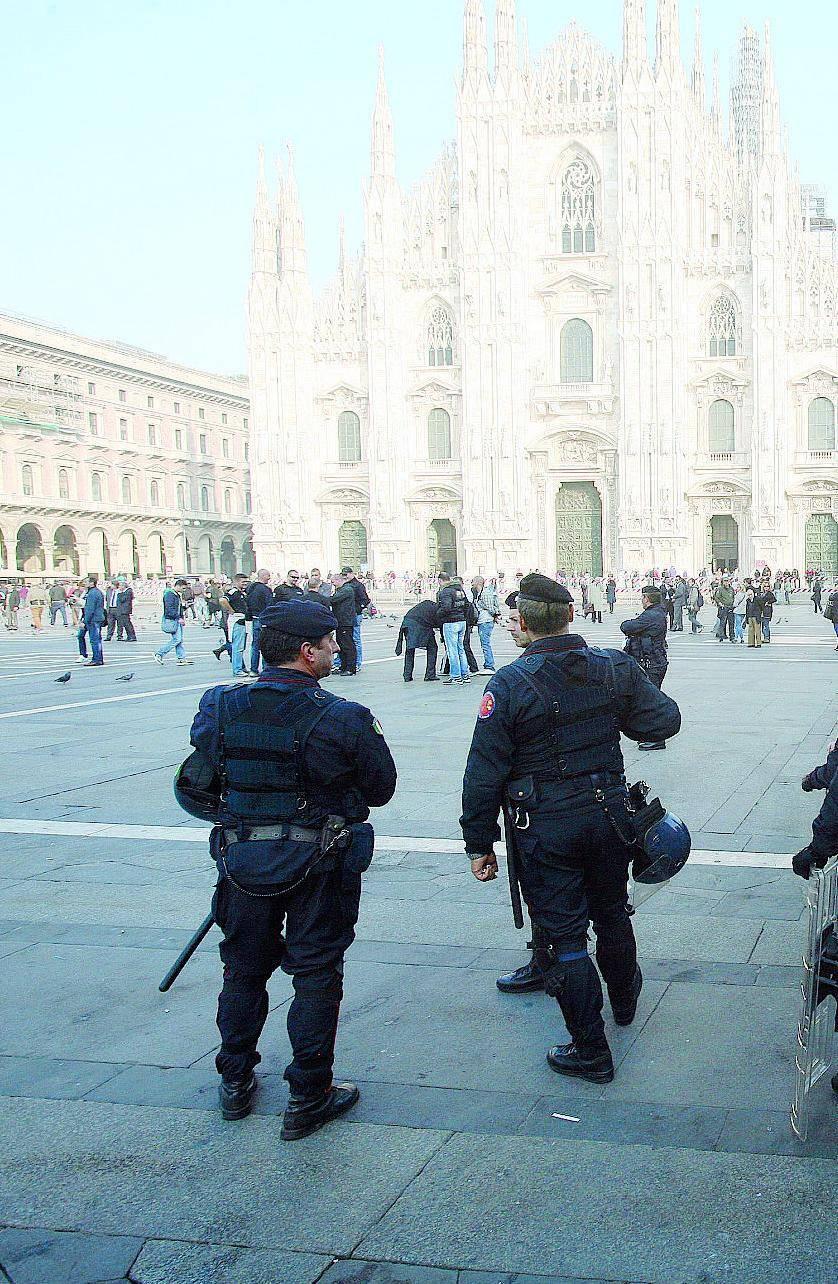 «Sarà l'esercito a controllare con noi anche il Duomo»