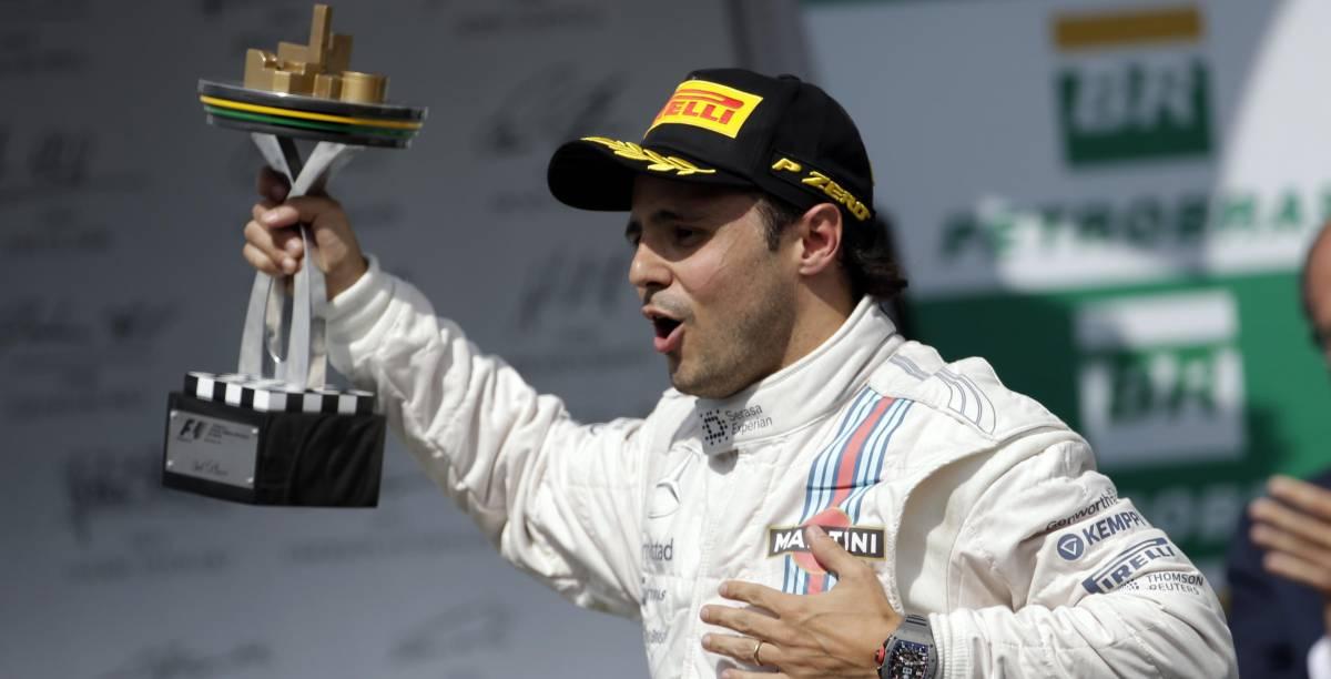 Solo in Brasile la F1 è di... Massa