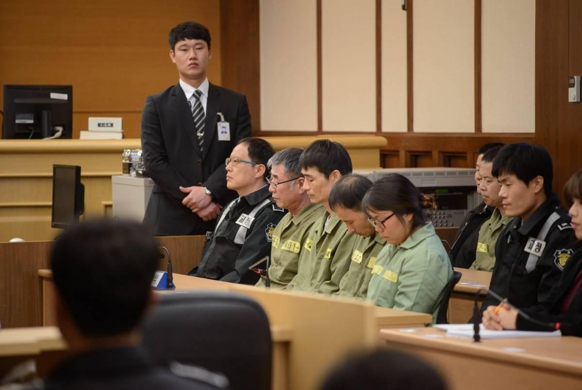 Capitano il traghetto del Sewol condannato a 36 anni di carcere