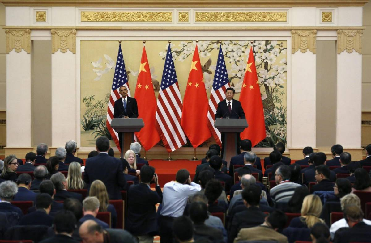 Barack Obama e Xi Jinping a Pechino per annunciare l'intesa sui gas serra