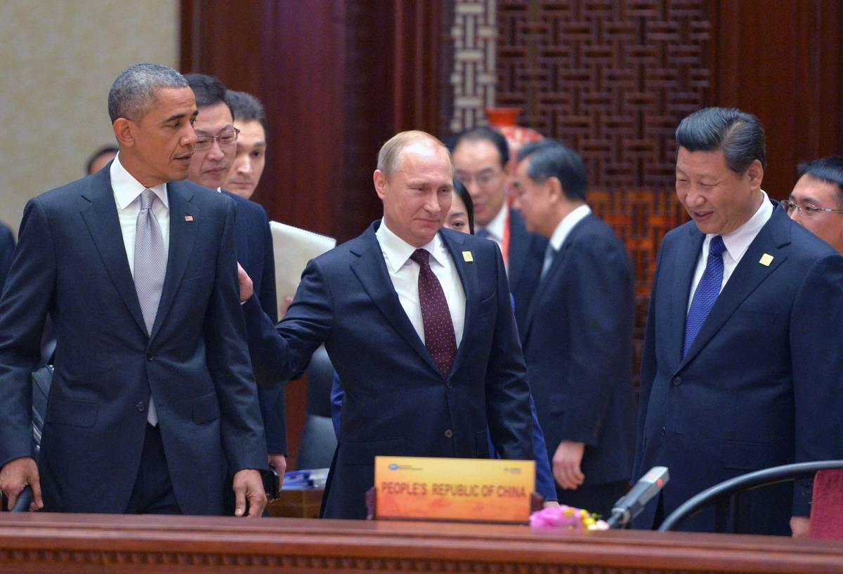 Obama, Putin e Xi Jinping