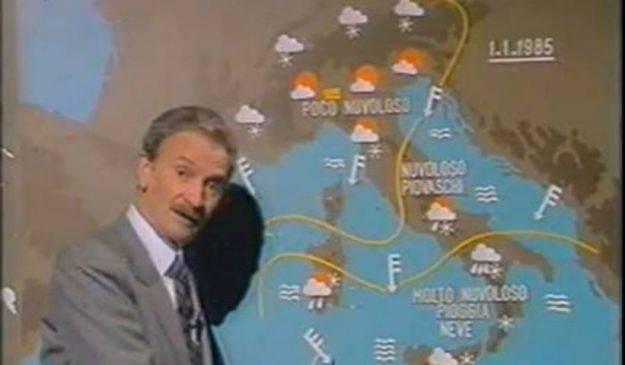 Morto Andrea Baroni, volto storico delle previsioni meteo