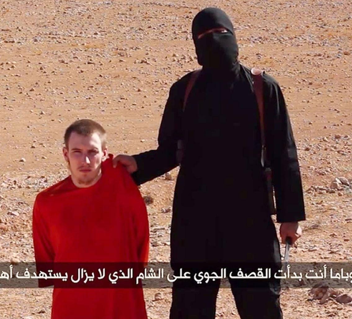 Un'altra testa tagliata dall'Isis È un americano convertito