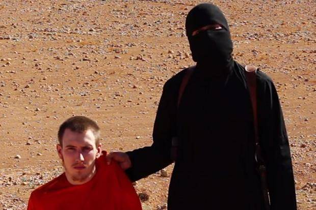 Peter Kassig, in un video precedente alla sua esecuzione