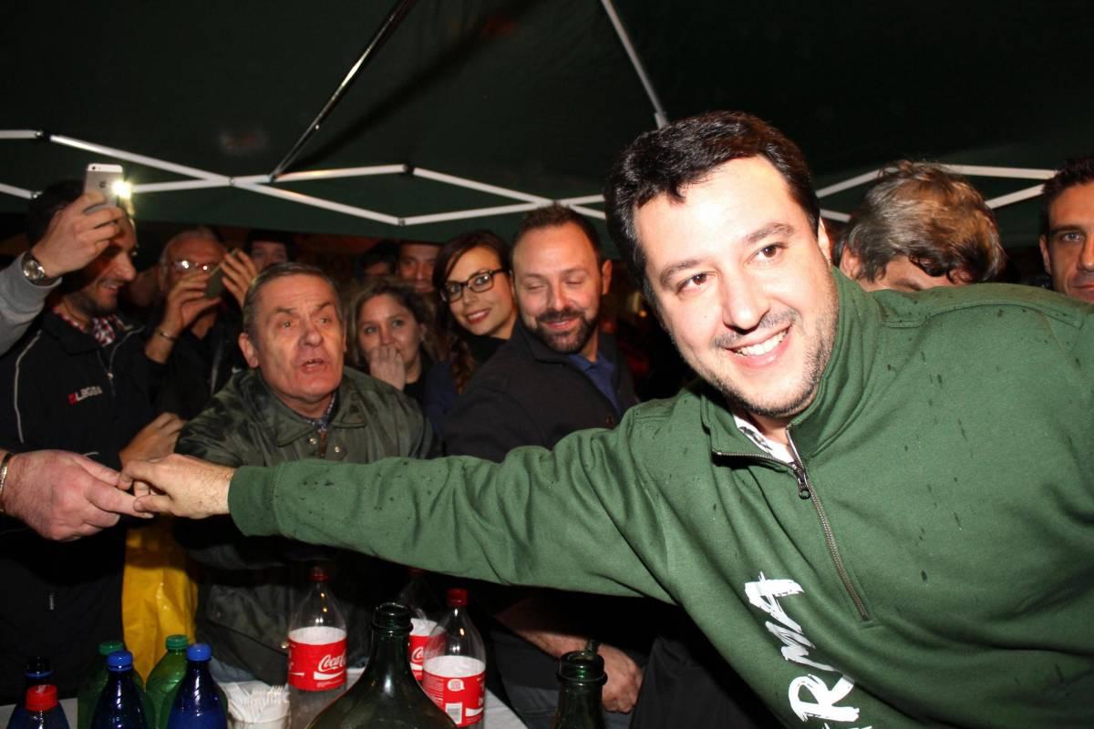 L'exploit della Lega. E Salvini esulta